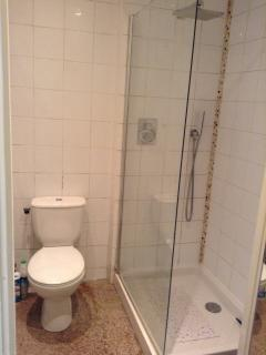The Shower room.