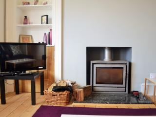 Wood fire for cosy nights in