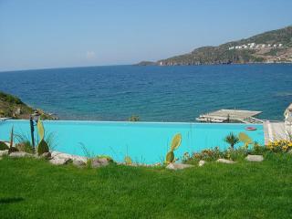 Özel plajı ile denize sıfır villa, Yalikavak