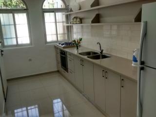 Just-renovated modern kitchen