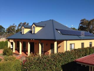 Responsible living! 3.25Kw Solar panels NW, 2.25Kw Solar panels SE. 5.5Kw total.