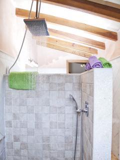 ducha amplia