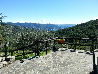 Sea-view charming Villa on Portofino Mount, Santa Margherita Ligure