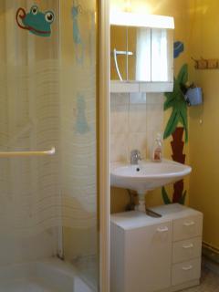 salle de bains (avec douche)