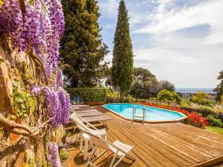 Villa Acacia, in Florence, no car needed, private pool, garden, Wi-Fi, Washers