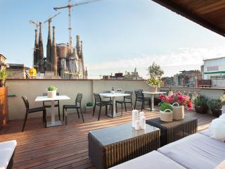 Sagrada Familia. Unique views - Gaudi, Barcelona