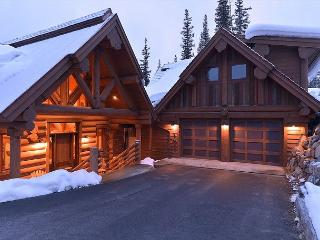 Custom Log Home with large deck, outdoor fireplace, hot tub and pool table!