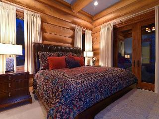 Baldy Mountain luxe in GoldenView Lodge - a Colorado custom log home, Breckenridge