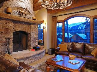 Enjoy excellent views and unique amenities in this custom built home, Breckenridge