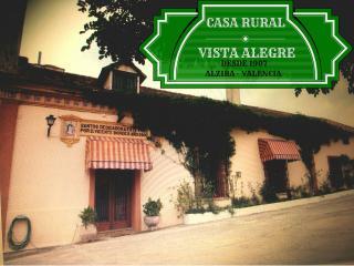 Casa Rural Vista Alegre de Alcira, Alzira