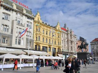 Main square around the corner