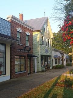 Located directly on Historic Main Street within steps of shops and dining options