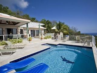 Villa Allesandra - great views - sunsets - all AC - tropical setting, Virgin Islands National Park