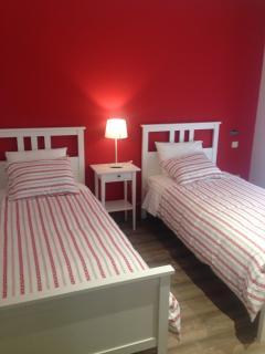 Habitación 2 camas de 90