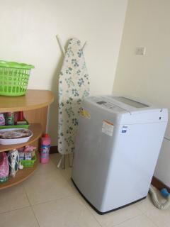 Laundry corner, with Washing Machine
