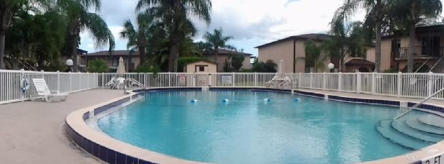 the condo have 2 big pools. the nearest only 30 m from the patio.