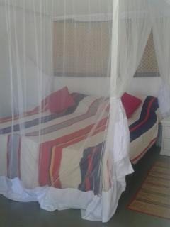 Our new mosquito nets in every room