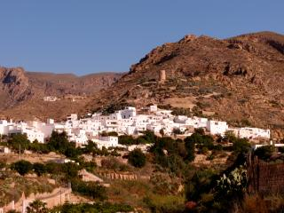 Camping in finca el Hualix en Nijar
