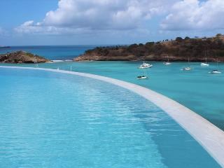 Villa Sugar Mill at Galley Bay Hill, Antigua - Ocean View, Pool, Rooftop Garden, Five Islands Village