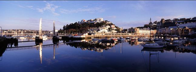 The Harbourside at Torquay Quality Bars and Restaurants Michelin star to 'fish n chips'