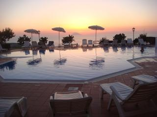 Impressive views, sunsets over the Mediterranean