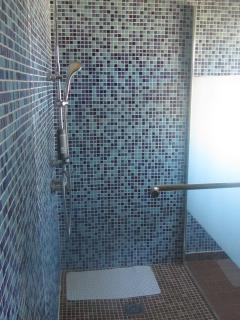 one of 3 showers