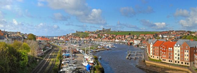 Stunning views of Whitby, just a 20 minute drive from Hill Farm Holiday Cottages