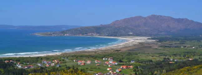 Surroundings. Carnota´s beach