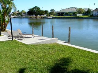 House on a canal in established neighborhood, Cape Coral
