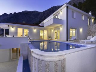 Luxury Villa in Bast with infinity pool, Baska Voda