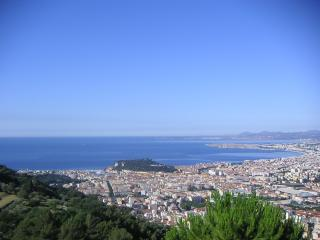 Appart  HD 44m² 1 chambre 3 pers, vue mer + park, Nice