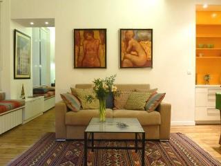 Charmant appartement Arty dans une rue piétonne calme, Paris