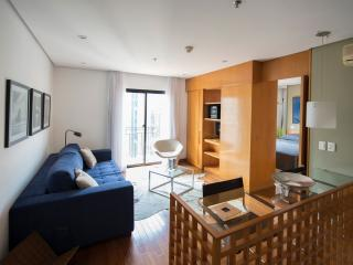 Beautiful 1 Bedroom Apartment in the Heart of Itaim Bibi, São Paulo
