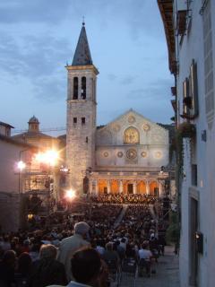 Piazza del Duomo of Spoleto