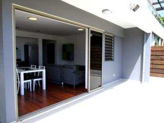 Appartement Heitiare - terrasse et son petit jardin