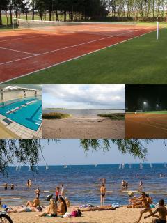 Tennise cort, pool, Lake Maardu, Pirita Beach, stadium