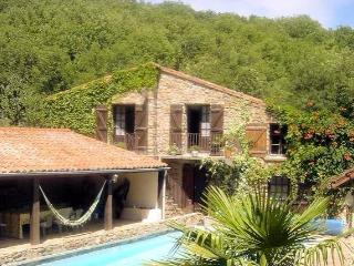 Moulieres French holiday home with pool, sleeps 10