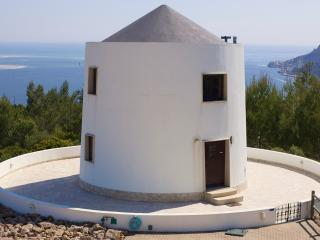 Restored windmill with stunning sea view