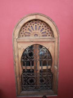 fenêtre  suite rouge vue externe