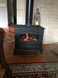 A nice fireplace
