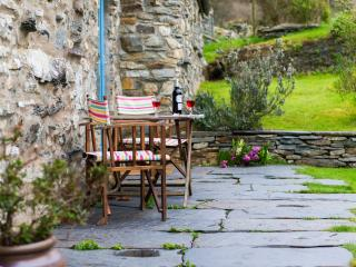 French Windows to the Patio - perfect for breakfast!