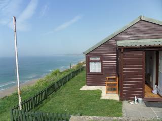 Holiday chalet at Whitsand Bay