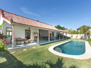 Beach town villa with Bali charm
