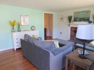 Entering the home you will find cozy seating - 13 Carol Lane West Harwich Cape Cod New England Vacation Rentals