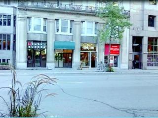 Downtown Montreal facing McGill University, Montréal