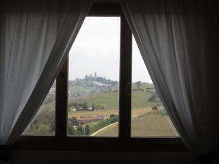 Vista su San Gimignano
