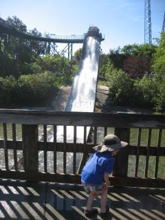 Water Rides at California's Great America
