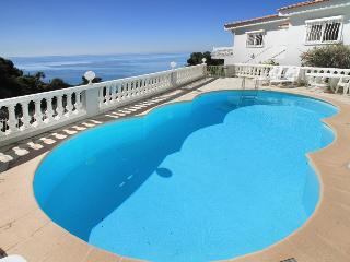 1544 Cote d'Azur villa with private pool by sea, Eze