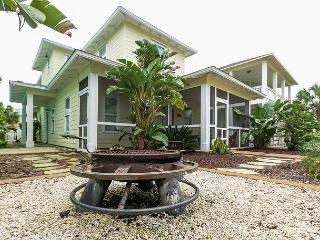 4BR Village Walk Ocean-view House with Pool, Firepit, Sleeps 10
