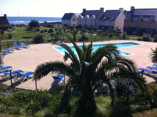 Appartement 2p dans résidence avec vue mer, Guilvinec